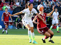 USA v Mexico Women's Olympic Qualifying